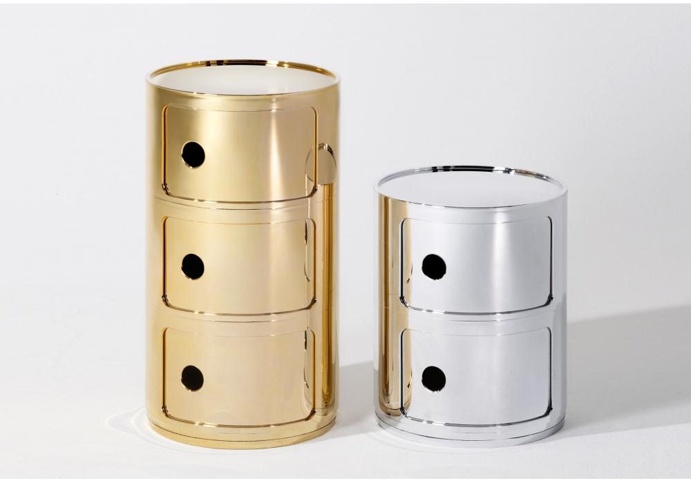 Componibili storage unit precious kartell milia shop for Kartell mobili