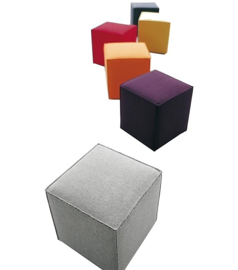 Pouf Cubo.Cubo Pouf Paola Lenti