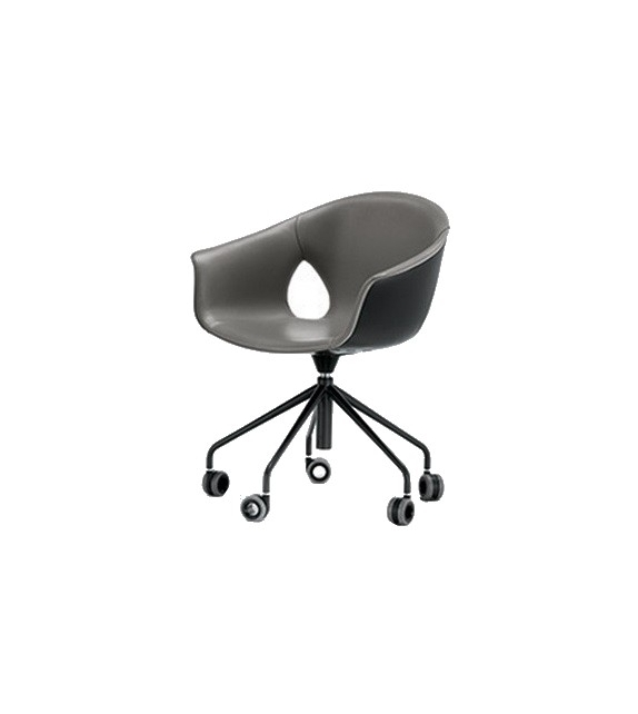Ginger Ale Office Fauteuil 5 Branches Poltrona Frau