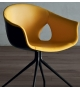 Ginger Ale Office Armchair 4-Spoke Poltrona Frau