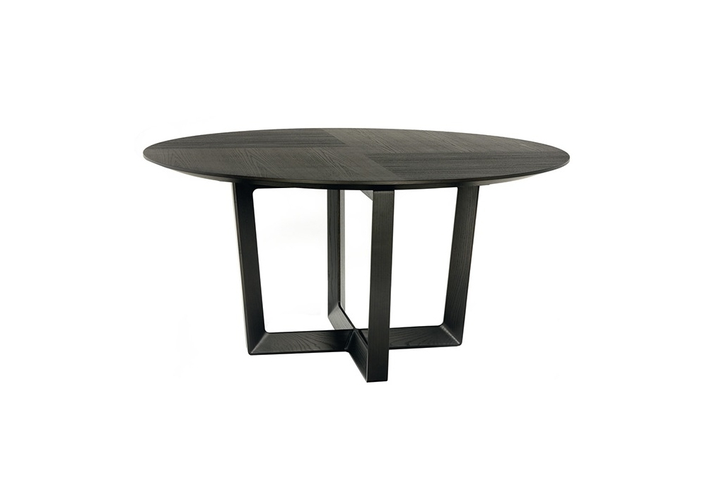 Bolero round table poltrona frau milia shop for Table ronde extensible