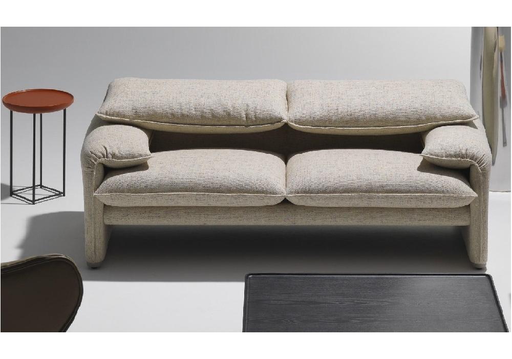 675 maralunga 40 canap 2 places cassina milia shop. Black Bedroom Furniture Sets. Home Design Ideas