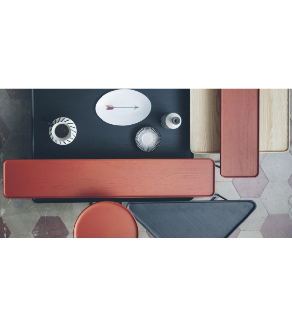 381 torei table basse ronde cassina milia shop. Black Bedroom Furniture Sets. Home Design Ideas