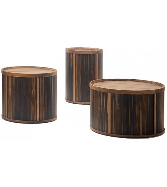 Ready for shipping - Drum Side Table Ceccotti Collezioni