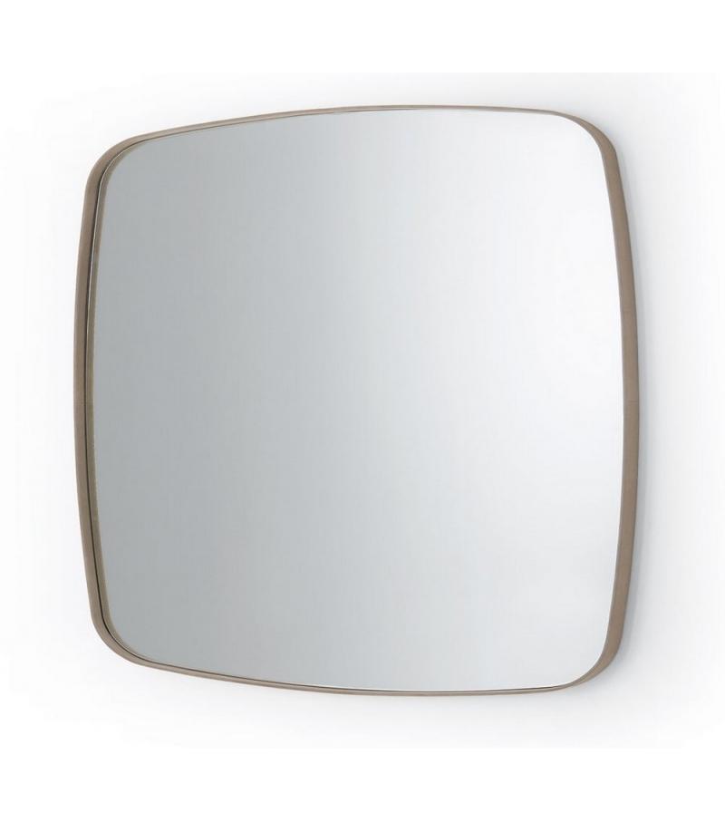 Soft square mirror gallotti radice milia shop for Square mirror