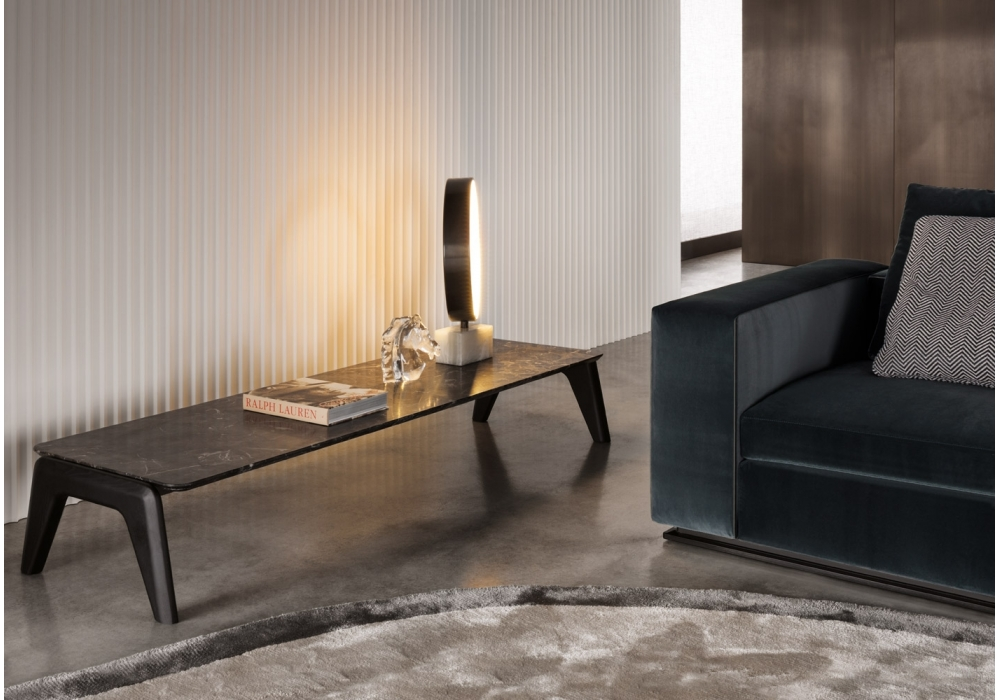 Kirk wood table basse minotti milia shop - Meubles minotti ...