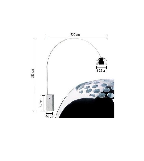 arco lampadaire flos milia shop. Black Bedroom Furniture Sets. Home Design Ideas