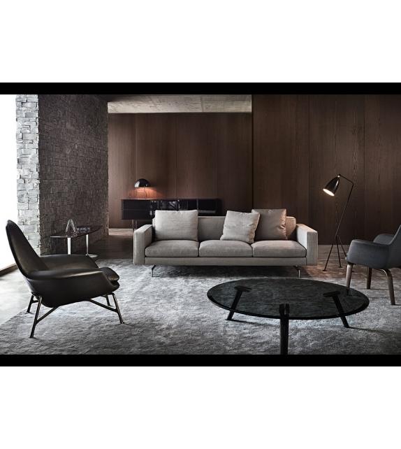 low back sofa minotti milia shop. Black Bedroom Furniture Sets. Home Design Ideas