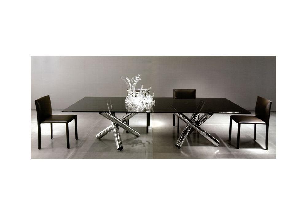 van dyck 39 04 rechteckiger tisch minotti milia shop. Black Bedroom Furniture Sets. Home Design Ideas