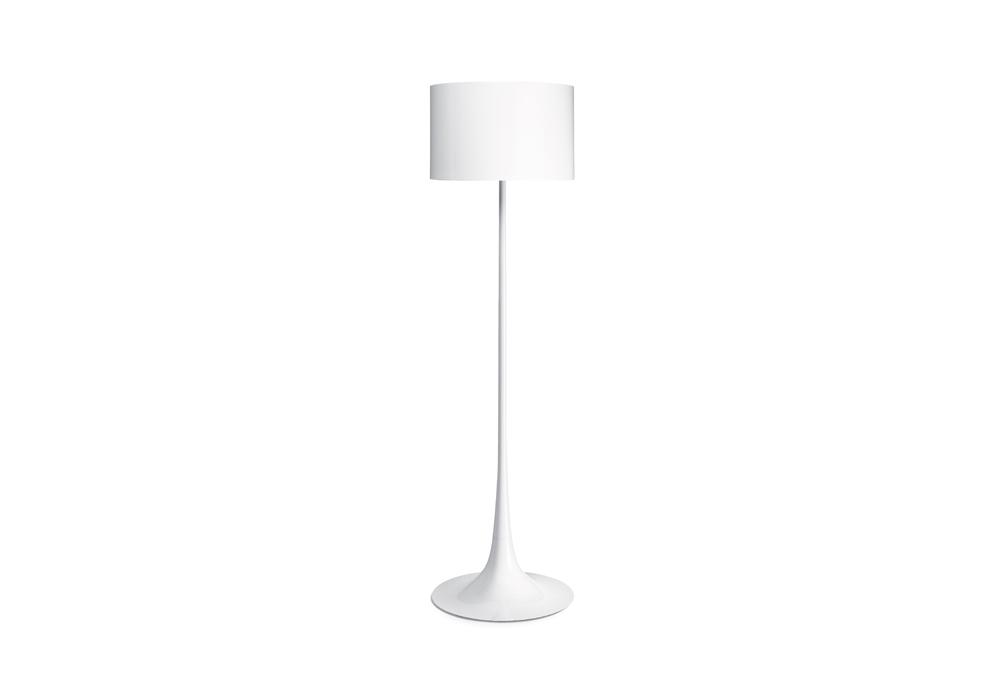 Spun light f lampada da terra flos milia shop for Flos piantana