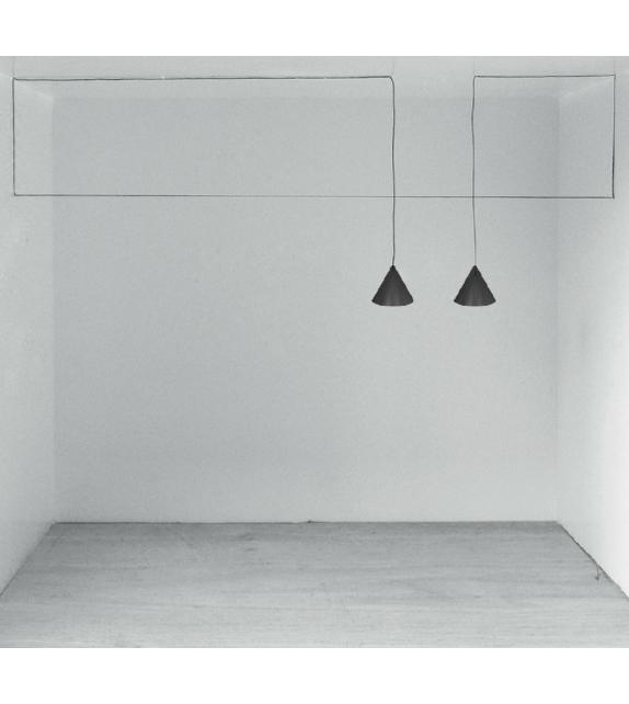 String Light Cone Suspension Lamp Flos