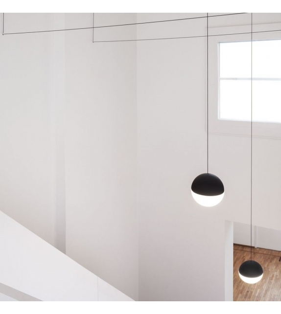 String Light Sphere Suspension Flos