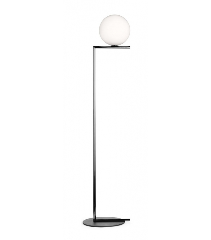 Ic f1 lampada da terra flos milia shop for Lampada a terra flos