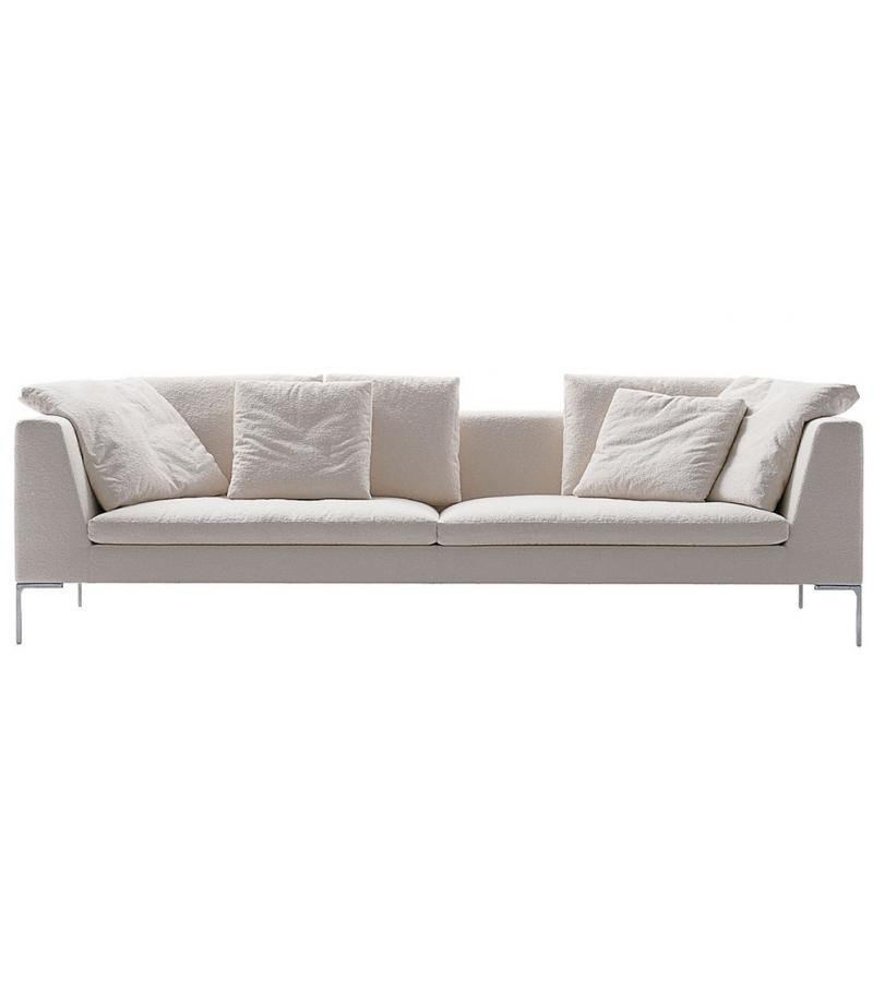 sofa charles large b b italia milia shop. Black Bedroom Furniture Sets. Home Design Ideas
