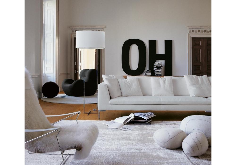 Charles large sofa b b italia milia shop for B b italia outlet