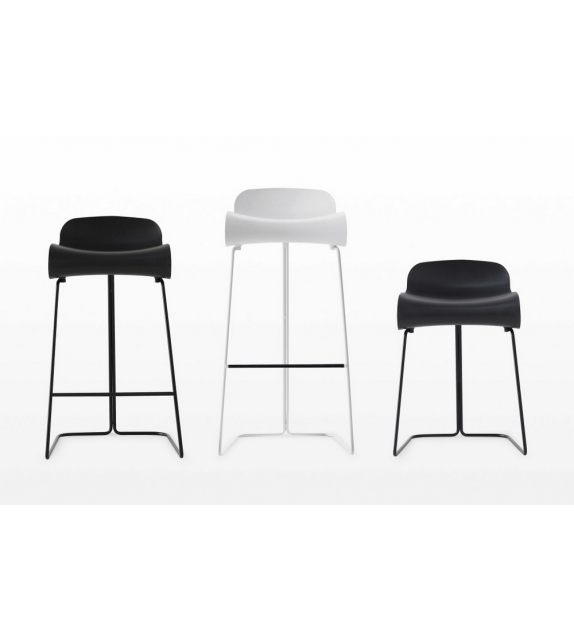 BCN Slide Base Stool Kristalia
