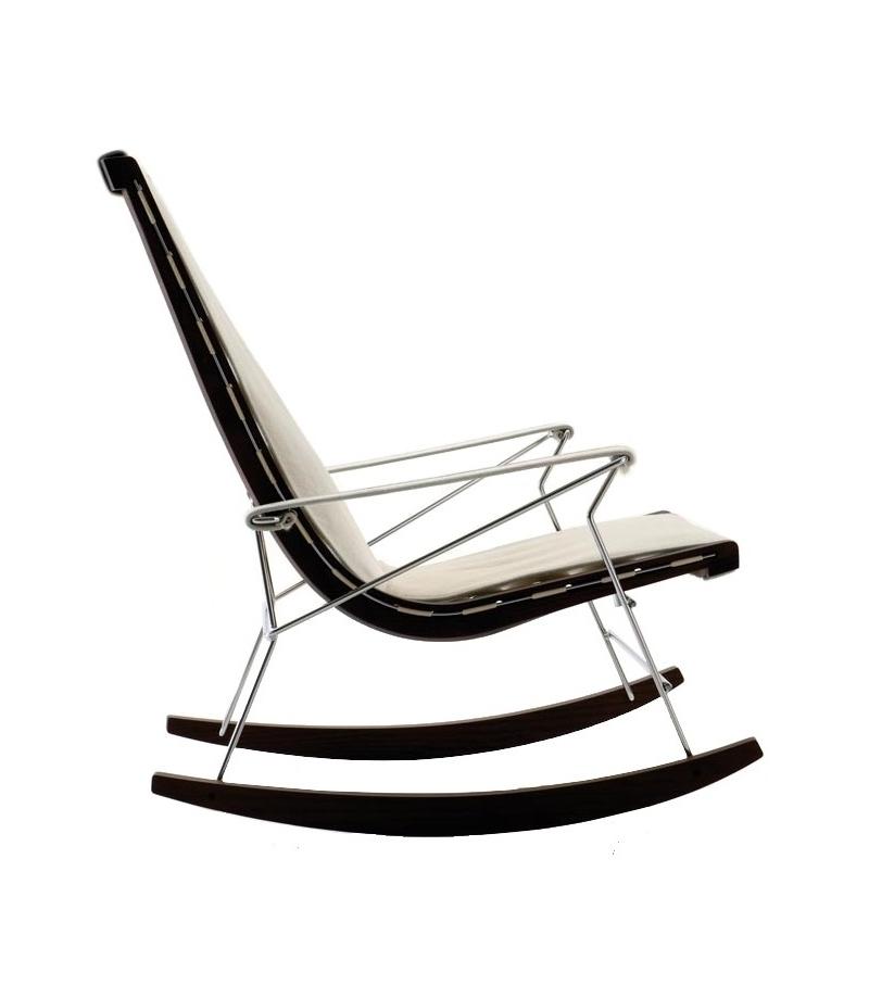 J j rocking chair b b italia milia shop - Chaise rocking chair ...
