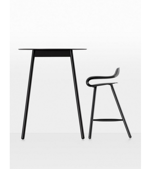 BCN Wooden Base Stool Kristalia