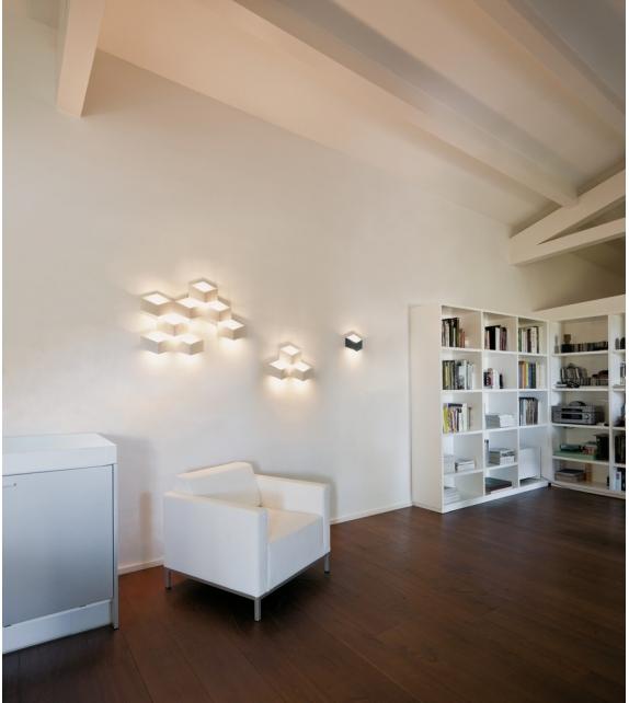 Fold Surface 6 LED Wall Lamp Vibia