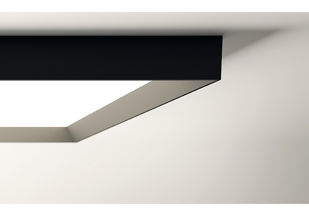 Plafoniere Rettangolari Da Soffitto : Up lampada da soffitto rettangolare vibia milia shop