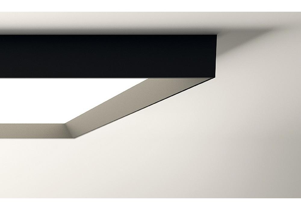 Plafoniera Quadrata Led Soffitto : Up lampada da soffitto quadrata vibia milia shop