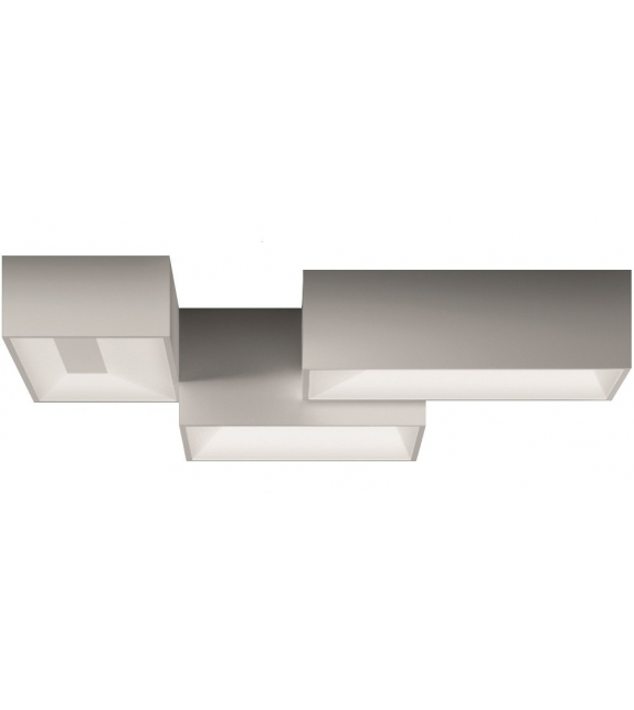 Vibia: Link 3 Modules Ceiling Lamp