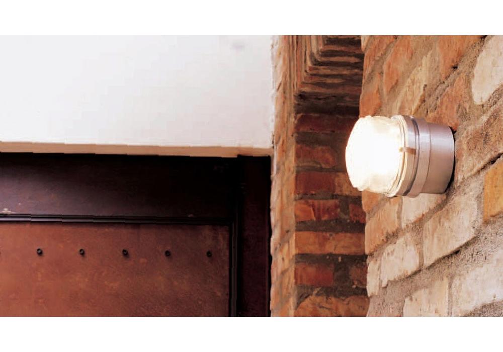 Luce esterna impermeabile lampade da parete doppia testa giardino