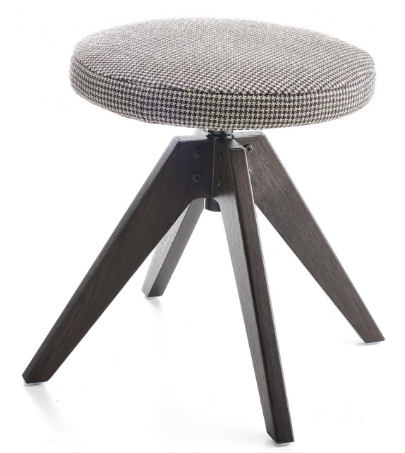 Flow MDF Italia Pouf 4 Gambe VN Rovere
