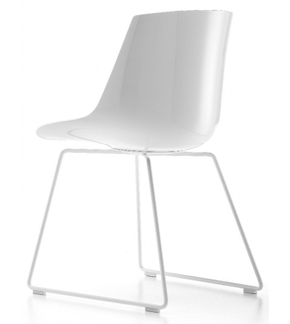 Flow Chair Sled Base MDF Italia