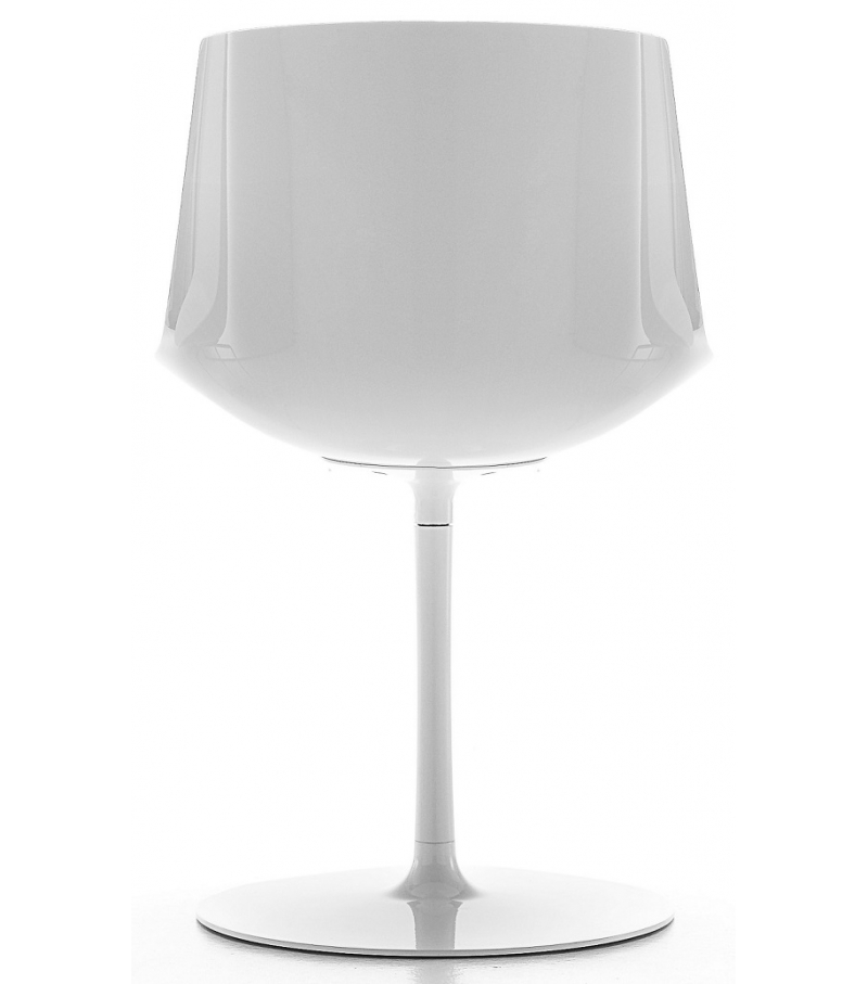Flow Chair Stuhl mit Tellerfuß MDF Italia
