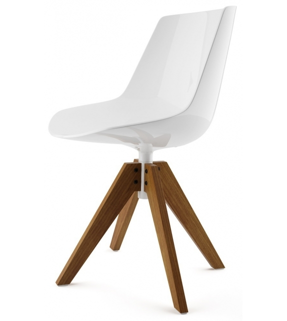 Flow Chair with Legs VN Oak MDF Italia