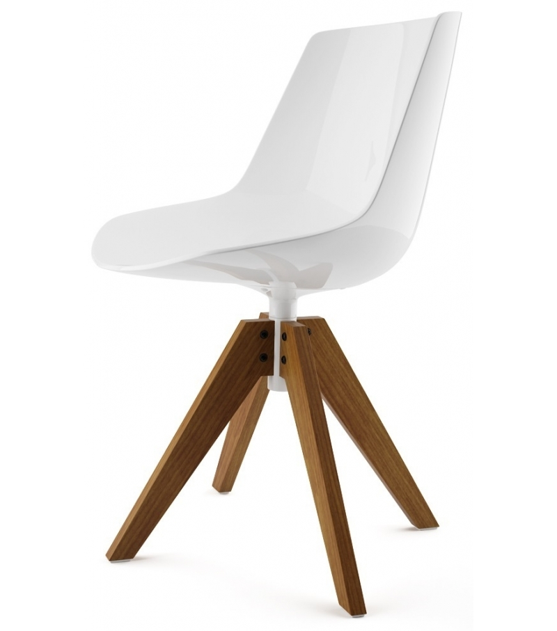 flow chair on trestle mdf italia milia shop. Black Bedroom Furniture Sets. Home Design Ideas