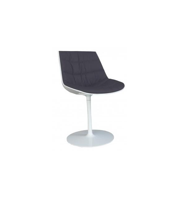 Flow Chair Polsterstuhl mit Tellerfuß MDF Italia