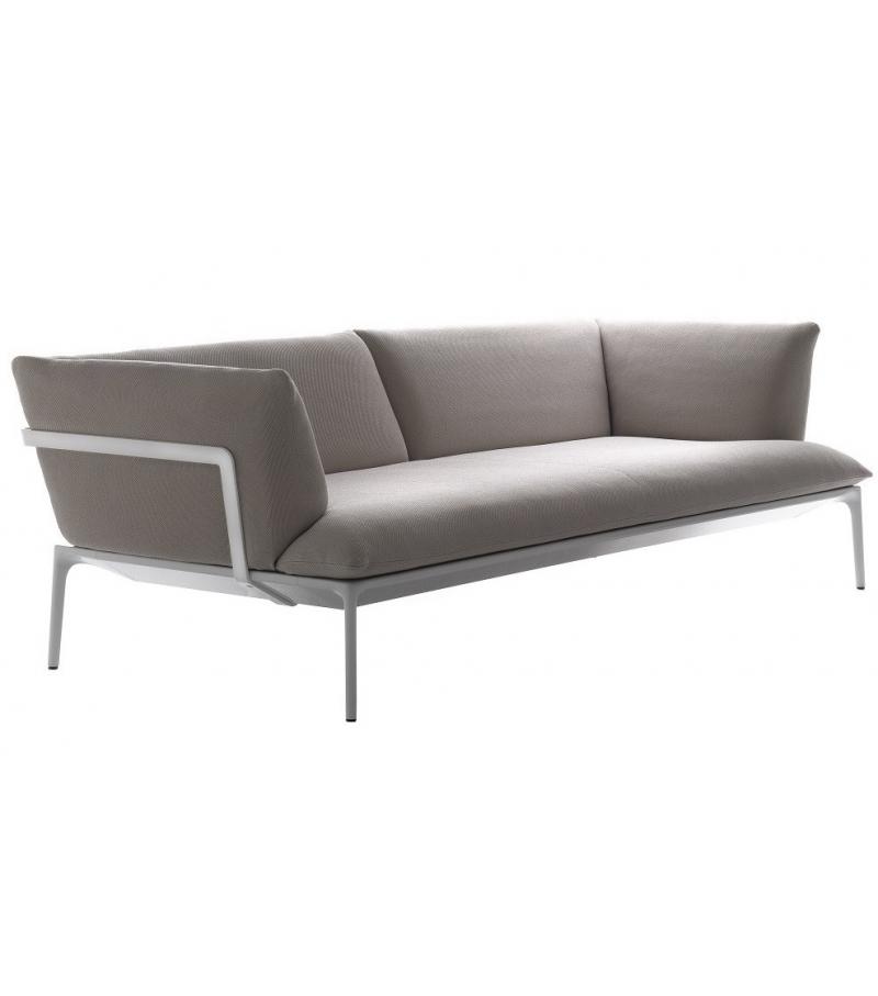 yale dreiersofa mdf italia milia shop. Black Bedroom Furniture Sets. Home Design Ideas