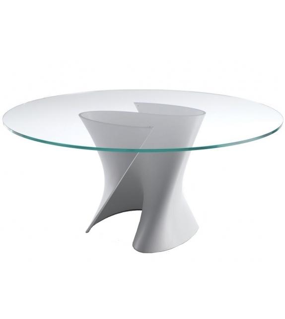 S Table White MDF Italia