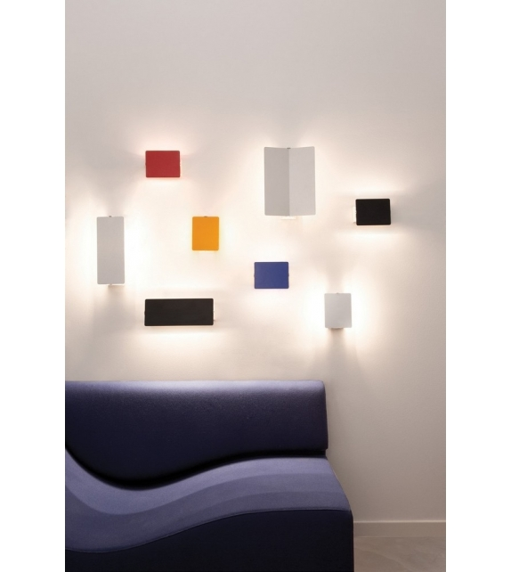 Applique à Volet Pivotant LED Lampada Da Parete Nemo