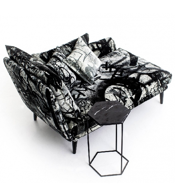 Sister Ray Chaise Longue Diesel with Moroso