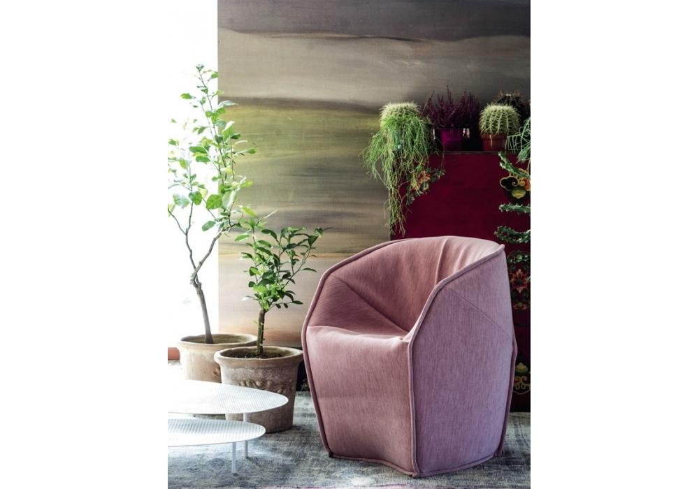 m a s s a s sessel klein moroso milia shop. Black Bedroom Furniture Sets. Home Design Ideas