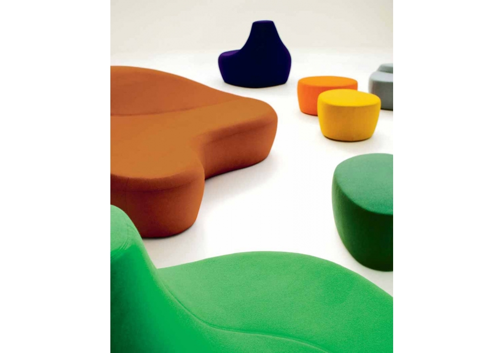 Awe Inspiring Saruyama Island Small Foot Stool Moroso Milia Shop Squirreltailoven Fun Painted Chair Ideas Images Squirreltailovenorg