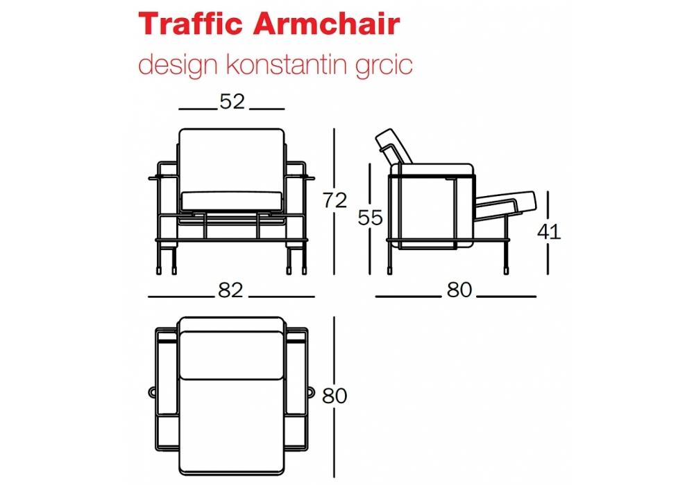 Traffic Armchair Magis - Milia Shop