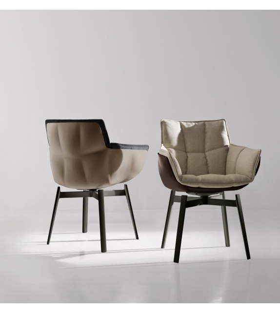 husk p1f small armchair b b italia milia shop. Black Bedroom Furniture Sets. Home Design Ideas