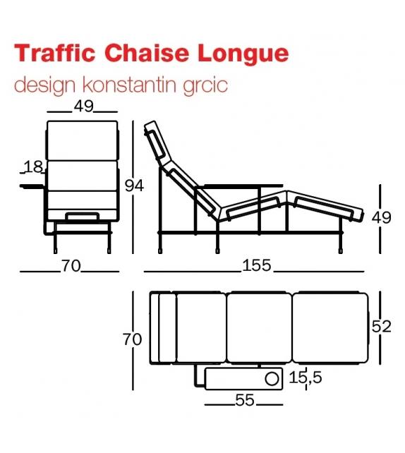 Traffic Chaise Longue Magis