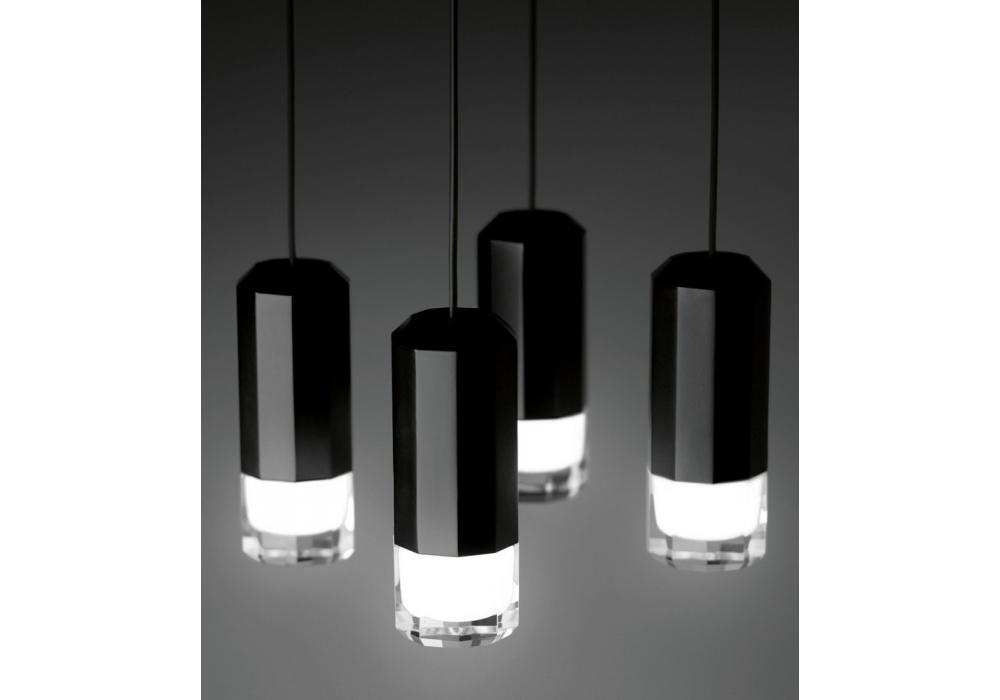 wireflow h ngeleuchte 4 led vibia milia shop. Black Bedroom Furniture Sets. Home Design Ideas