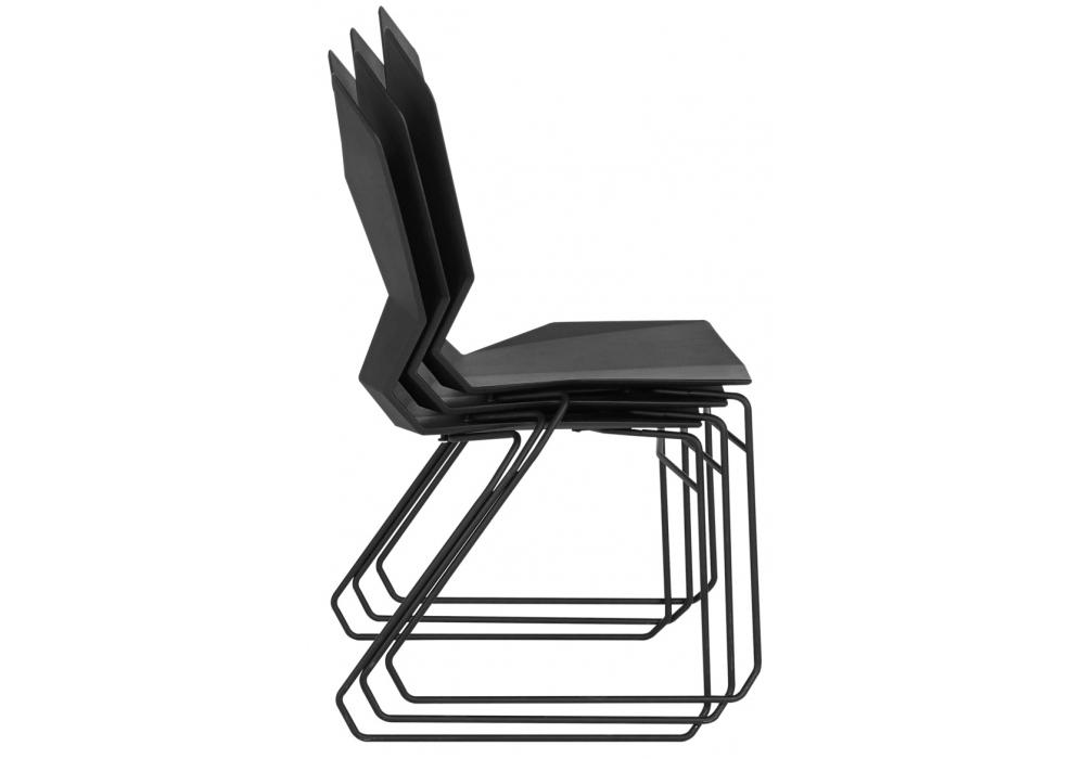 y chair chaise avec traineau tom dixon milia shop. Black Bedroom Furniture Sets. Home Design Ideas