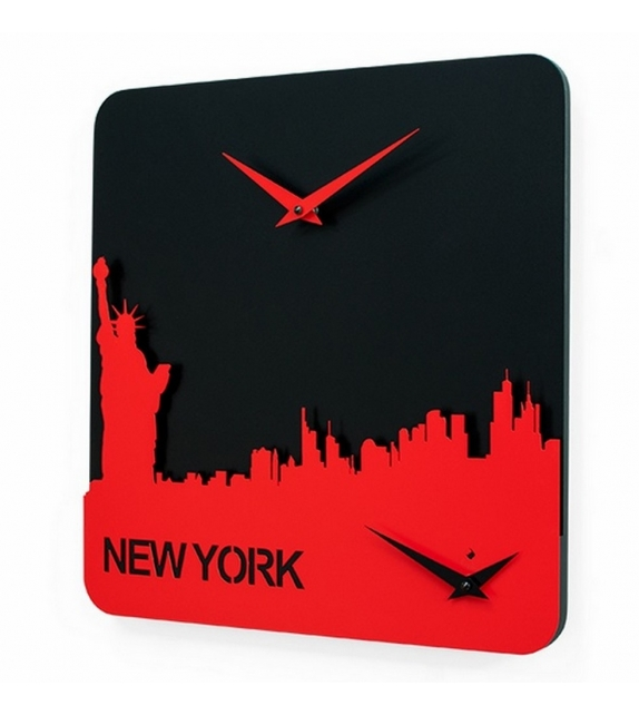 Time Travel New York Horloge Progetti
