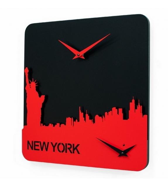 Time Travel New York Reloj Progetti