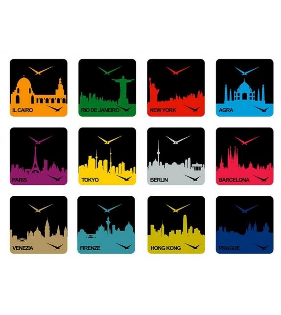 Time Travel New York Clock Progetti