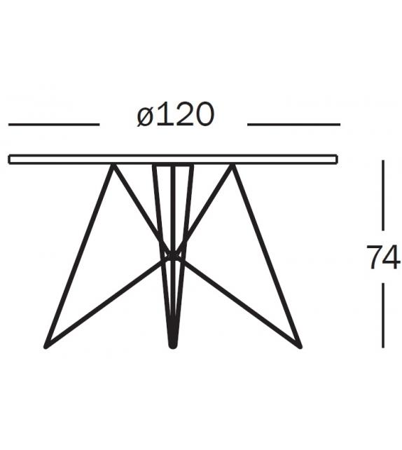 Tavolo XZ3 Runder Tisch Magis