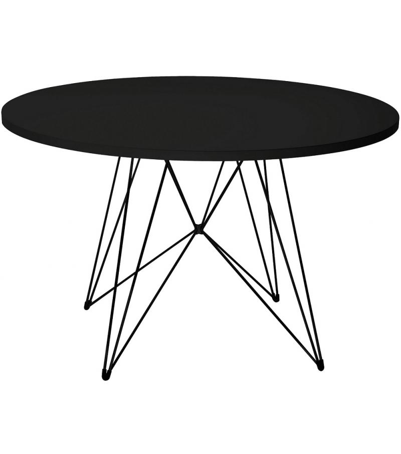 schwarzer runder esstisch – dogmatise, Esszimmer dekoo