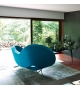 Victoria and Albert Armchair Right Asymmetrical Sofa Moroso
